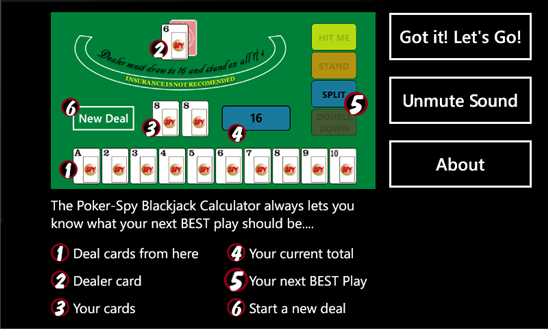 free online blackjack calculator download